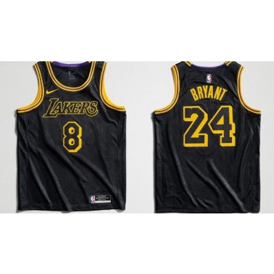 authentic lakers black jersey