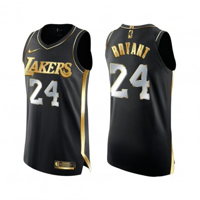 black lakers jersey authentic