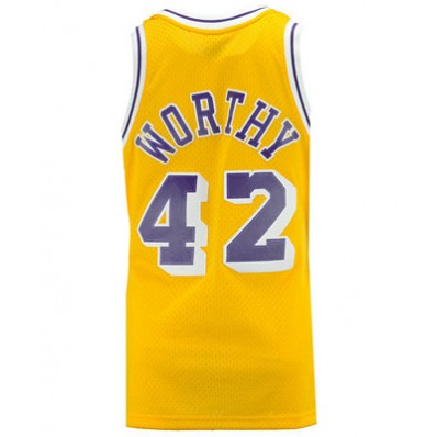 james worthy los angeles lakers jersey