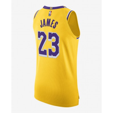 lebron james authentic lakers jersey