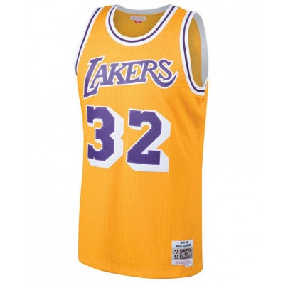 los angels lakers hardwood classic jersey for men