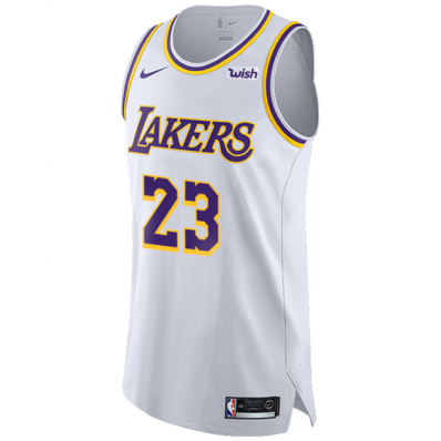 mens authentic lakers jersey