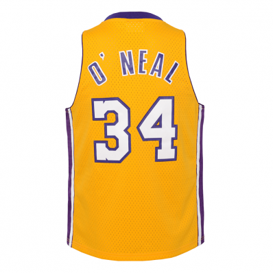 shaquille o'neal lakers jersey youth