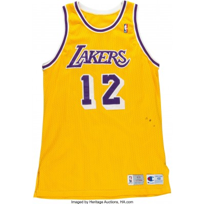 vlade divac jersey lakers