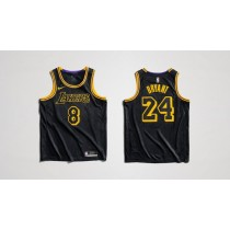 los angeles lakers jersey black yellow