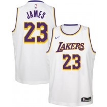 los angeles lakers jersey white